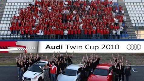 Audi Twin Cup: Campioni Mondiali la Service